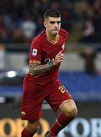 Football, Serie A: AS Roma - Brescia FC, Olympic stadium, Rome, November 24, 2019. <br /> Roma's Gianluca Mancini celebrates after scoring during the Italian Serie A football match between Roma and Brescia at Olympic stadium in Rome, on November 24, 2019. <br /> UPDATE IMAGES PRESS/Isabella Bonotto