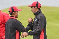 Hiroki Miya and Reid Hilton of Canterbury Toro New Zealand Mens Interprovincial Tournament, Clearwater Golf Club, Christchurch, New Zealand, 26th November 2018. Photo:John Davidson/www.bwmedia.co.nz