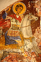 Frescos in the Greek Othodox chuch of Plaiachora,  Aegina, Greek Saronic Islands