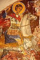 Frescos in the Greek Othodox chuch of Plaiachora,  Aegina, Greek Saronic Islands