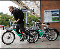 BNPS.co.uk (01202 558833)<br /> Pic: PhilYeomans/BNPS<br /> <br /> A simple app unlocks the bikes...and a GPS tracker allows the company to accurately locate them.<br /> <br /> An amnesty for thieves who have taken GPS operated community bikes is taking place before police come after them.<br /> <br /> The Beryl bikes were introduced in Bournemouth, Dorset, in June, as part of a community bike share scheme.<br /> <br /> But many of the £950 bikes have gone missing since the launch.<br /> <br /> The organisers have given those responsible until Sunday to drop them off at one of the dedicated bike bays across the seaside town. After that Dorset police will start investigating the acts of theft with the culprits facing criminal prosecution. <br /> <br /> And given that the bikes have a GPS system built on to them it will not be too hard to track the culprits down.