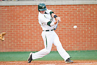 Justin Seager #10 of the Charlotte 49ers takes his swings against the Tennessee Tech Golden Eagles at Robert and Mariam Hayes Stadium on March 8, 2011 in Charlotte, North Carolina.  Photo by Brian Westerholt / Four Seam Images