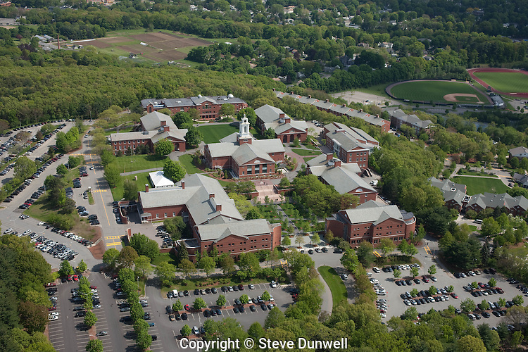 Bentley University aerial view, Waltham, MA
