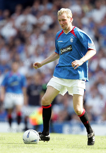 Stephen Hughes, Rangers.stock season 2004-2005.pic willie vass