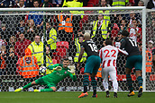 30th September, bet365 Stadium, Stoke-on-Trent, England; EPL Premier League football, Stoke City versus Southampton; Southampton's goalkeeper Fraser Forster saves a penalty