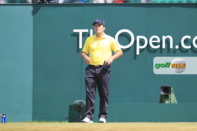 Francesco MOLINARI (ITA) during round 4 of  The 142th Open Championship Muirfield, Gullane, East Lothian, Scotland 21/7/2013<br /> Picture Eoin Clarke www.golffile.ie: