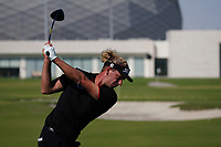 Marcel Siem (GER) on the driving range during the Preview of the Commercial Bank Qatar Masters 2020 at the Education City Golf Club, Doha, Qatar . 03/03/2020<br /> Picture: Golffile   Thos Caffrey<br /> <br /> <br /> All photo usage must carry mandatory copyright credit (© Golffile   Thos Caffrey)