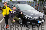 Barry and Dylan Ryan at the Car Vintage show in Killarney on Sunday