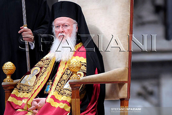 Orthodox Christians, Patriarch Bartholomew I, Pope Benedict XVI, .and the leader of the world's Orthodox Christians, Patriarch Bartholomew I, celebrate a ceremony in memory of St. Paul, Holy Mass and imposition of the Pallium on Metropolitan Archbishops