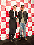 "November, 21st : Tokyo, Japan – Joe Odagiri appears at a press conference for  the film ""MY WAY"" in the Shinjuku WALD9 CINEMA. This story is based on a true story during the World War Ⅱ. Joe Odagiri (Japan) and Dong-Gun Jang (Korea) play in the movie as main characters. This film will be released from January14th. (Photo by Yumeto Yamazaki/AFLO)"