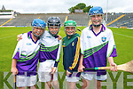 Hurling skills were honed at the GAA Hurling Cu?l Camp in Killarney last week. .L-R Oisin Moore, Jack Griffin, Fiachra Clifford and Denis Ring