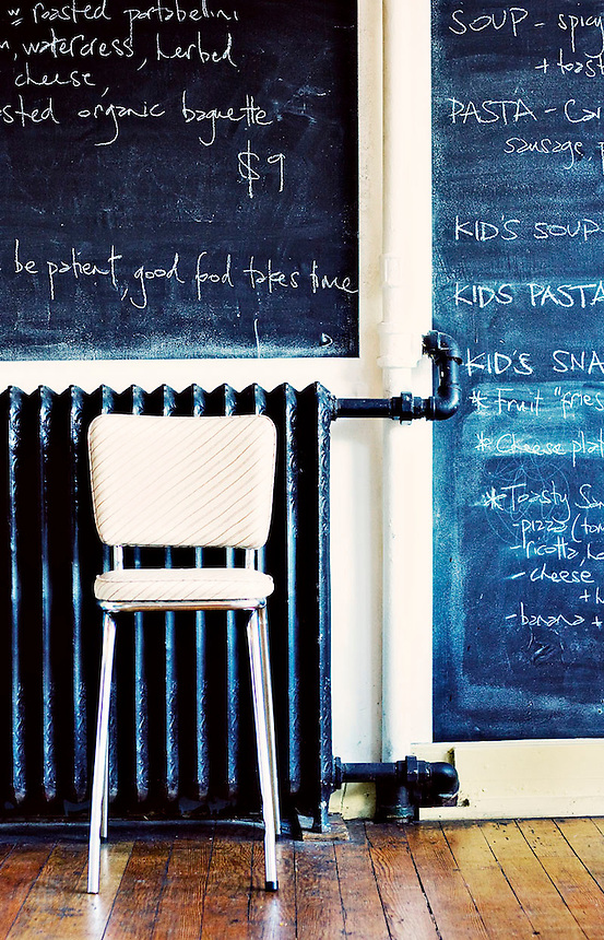 'Good food takes time' 9x14, Kate Inglis