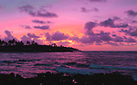 Cosmic Dawn on Kauai<br /> Poipu Beach<br /> Kauai, Hawaii