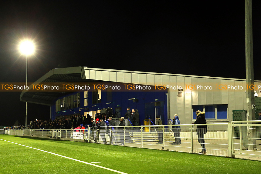 A general view of the main sand at Parkside during AFC Hornchurch vs Enfield Town, Velocity Trophy Final Football at Parkside on 10th April 2019