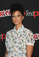 NEW YORK, NY - OCTOBER 07: Alisha Wainwright from the cast of the Shadowhunters attend the press day at New York ComicCon at the Theater at Madison Square Garden on October 7, 2017 in New York City. <br /> CAP/MPI/JP<br /> &copy;JP/MPI/Capital Pictures