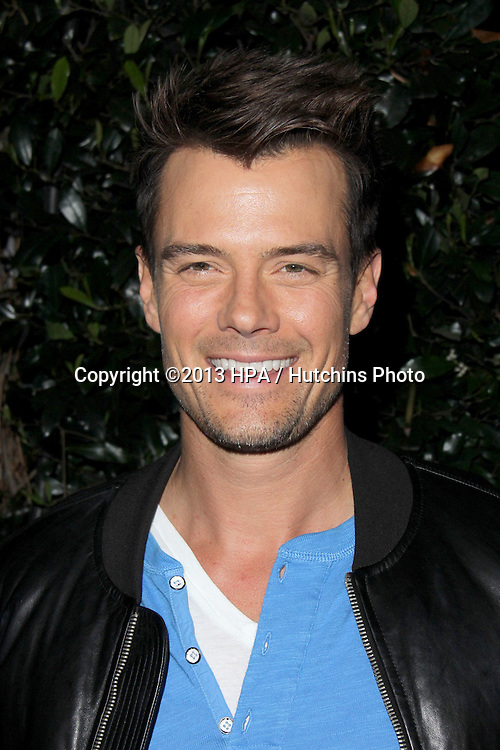 LOS ANGELES - MAR 20:  Josh Duhamel arrives at the US launch of the Blackberry Z10 Smartphone at the Cecconi's on March 20, 2013 in West Hollywood, CA