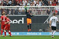 Parade Torwart Ron-Robert Zieler (VfB Stuttgart) - 30.09.2017: Eintracht Frankfurt vs. VfB Stuttgart, Commerzbank Arena