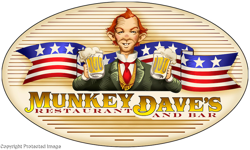 The logo for a trendy D.C. restaurant and pub where Washington insiders meet to drink and deal.