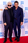 Pedro Almodovar and Antonio Banderas attend the movie premiere of 'Dolor y gloria' in Capitol Cinema, Madrid 13th March 2019. (ALTERPHOTOS/Alconada)