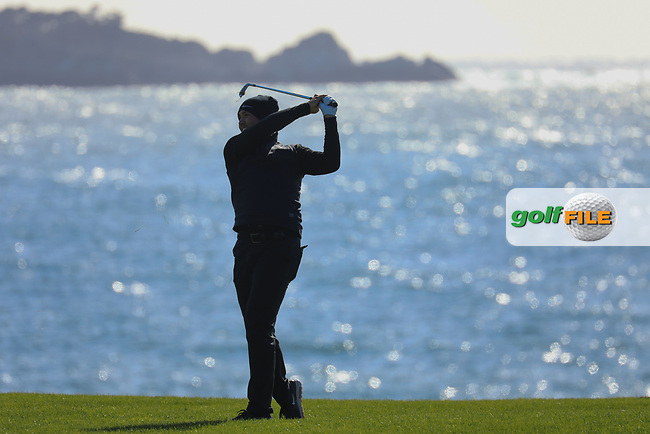 Jason Day (AUS) during the final round of the AT&amp;T Pro-Am ,Pebble Beach Golf Links, Monterey, USA. 10/02/2019<br /> Picture: Golffile | Phil Inglis<br /> <br /> <br /> All photo usage must carry mandatory copyright credit (&copy; Golffile | Phil Inglis)