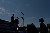 United States President Barack Obama makes remarks at the National Peace Officers Memorial Service, an annual ceremony honoring law enforcement who were killed in the line of duty in the previous year, at the US Capitol in Washington, DC, May 15, 2015.<br /> Credit: Olivier Douliery / Pool via CNP