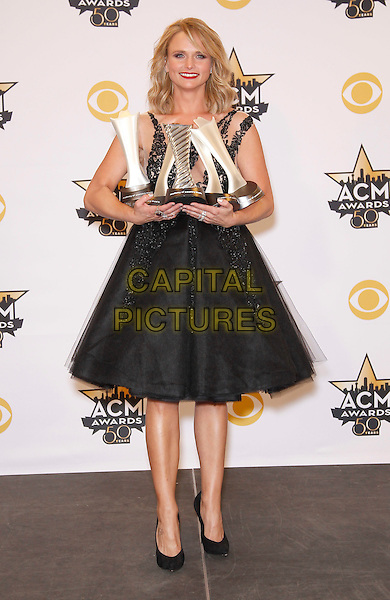 19 April 2015 - Arlington, TX -   Miranda Lambert.  The 2015 ACM Awards at AT&amp;T Stadium- Press Room<br /> CAP/ADM/MJT<br /> &copy; MJT/AdMedia/Capital Pictures