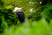 Robert Cannon (Leinster) during final day foursomes at the Interprovincial Championship 2018, Athenry golf club, Galway, Ireland. 31/08/2018.<br /> Picture Fran Caffrey / Golffile.ie<br /> <br /> All photo usage must carry mandatory copyright credit (© Golffile | Fran Caffrey)