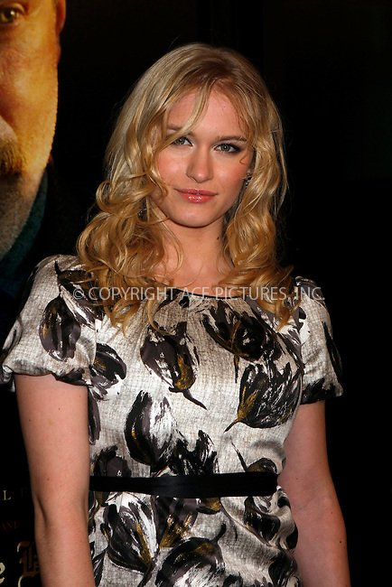 WWW.ACEPIXS.COM . . . . .  ....December 10, 2007. New York City.....Actress Leven Rambin attends the 'There Will Be Blood' premiere at the Ziegfeld Theater in New York City.......Please byline: AJ Sokalner - ACEPIXS.COM.... *** ***..Ace Pictures, Inc:  ..Philip Vaughan (646) 769 0430..e-mail: info@acepixs.com..web: http://www.acepixs.com