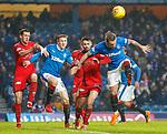4.3.2018: Rangers v Falkirk Scottish Cup QF<br /> Jason Cummings and David Bates