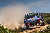 8th June 2017, Alghero, West Coast of Sardinia, Italy; WRC Rally of Sardina;  Padddon