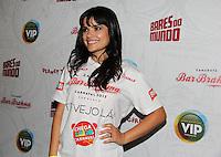 SAO PAULO, SP, 18 DE JANEIRO 2012. A atriz Vanessa Giacomo, no esquenta para o Carnaval, no Bar Brahma, regiao central de SP, na noite desta quarta-feira, 18. FOTO MILENE CARDOSO - NEWS FREE