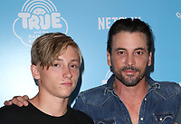 LOS ANGELES, CA - AUGUST 10: Skeet Ulrich, Jakob Ulrich, at the Netflix Series Premiere Of True And The Rainbow Kingdom at the Pacific Theatres at The Grove in Los Angeles, California on August 10, 2017. Credit: Faye Sadou/MediaPunch