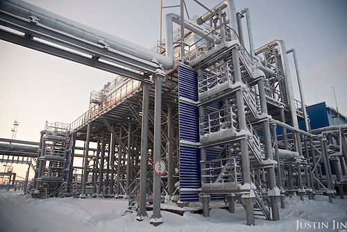 Gazprom operations in Russia. Copyright by Justin Jin.