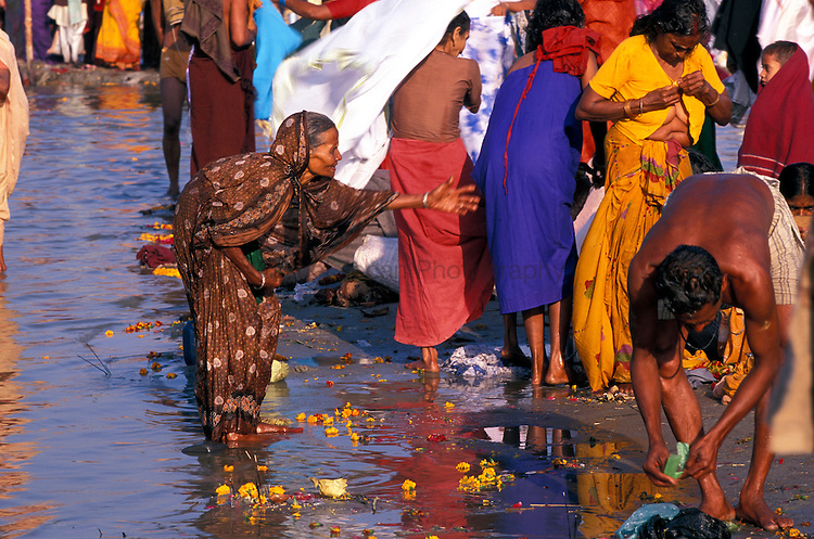 Kumbha Mela (The holy bath in the Ganges River)