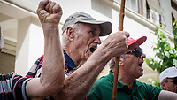 2018 05 25 Pensioners protest, Athens, Greece