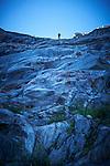 Août 2016,  Glacier du Trient en route avec le Cristalliser Sébastien Fragnières  © sedrik nemeth