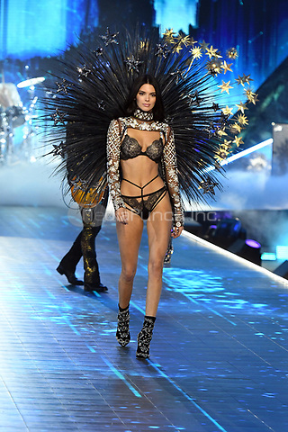 NEW YORK, NY - NOVEMBER 08: Kendall Jenner at the 2018 Victoria's Secret Fashion Show at Pier 94 on November 8, 2018 in New York City. Credit: John Palmer/MediaPunch