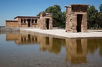 29 MAY 2009 - MADRID,ESP - Templo de Debod in Parque de la Montana (PHOTO (C) NIGEL FARROW)