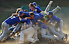 West Islip teammates celebrate after their 16-0 win over East Meadow in the Class AA varsity baseball Long Island Championship at Farmingdale State College on Saturday, June 4, 2016.
