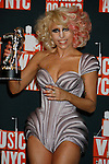 NEW YORK, New York - September 13: Lady GaGa poses in the press room at the 2009 MTV Video Music Awards at Radio City Music Hall on September 13, 2009 in New York City.