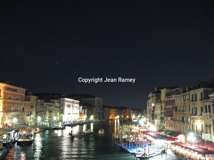 Night on the Grand Canal - Venice