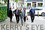 Jarvey Dan Casey left walks into Killarney court with Solicitor Dan O'Connor and his wife Breda on Wednesday (please confirm names with court reporter)