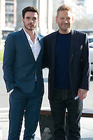 Kenneth Branagh and Richard Madden attend the Cinderella Movie Presentation at Puerta de Alcala, Madrid,  Spain. March 16, 2015.(ALTERPHOTOS/)Carlos Dafonte) /NORTEphoto.com