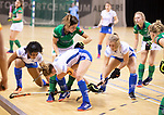 Almere - Zaalhockey Kampong-Push . Pam Imhof (Kam)   COPYRIGHT KOEN SUYK