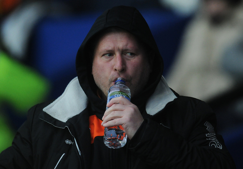 Blackpool's Manager Terry McPhillips<br /> <br /> Photographer Kevin Barnes/CameraSport<br /> <br /> The EFL Sky Bet League One - Oxford United v Blackpool - Saturday 15th December 2018 - Kassam Stadium - Oxford<br /> <br /> World Copyright © 2018 CameraSport. All rights reserved. 43 Linden Ave. Countesthorpe. Leicester. England. LE8 5PG - Tel: +44 (0) 116 277 4147 - admin@camerasport.com - www.camerasport.com