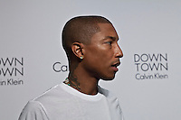 Musician Pharrell Williams Attends the Calvin Klein Collection post show event at Spring Studios on September 12, 2013 New York by  VIEWpress