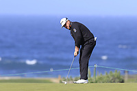 Graeme McDowell (NIR) putts on the 5th green of Monterey Peninsula CC during Saturday's Round 3 of the 2018 AT&amp;T Pebble Beach Pro-Am, held over 3 courses Pebble Beach, Spyglass Hill and Monterey, California, USA. 10th February 2018.<br /> Picture: Eoin Clarke | Golffile<br /> <br /> <br /> All photos usage must carry mandatory copyright credit (&copy; Golffile | Eoin Clarke)