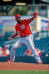 1 March 2019: Washington Nationals pitcher Wander Suero on the mound during Spring Training play against the Miami Marlins at Roger Dean Stadium in Jupiter, Florida. The Nationals defeated the Marlins 5-4 in Grapefruit League play. Mandatory Credit: Ed Wolfstein Photo *** RAW (NEF) Image File Available ***