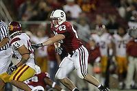 4 November 2006: Jim Dray during Stanford's 42-0 loss to USC at Stanford Stadium in Stanford, CA.