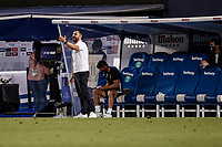 22nd June 2020; Estadio Municipal de Butarque, Madrid, Spain; La Liga Football, Club Deportivo Leganes versus Granada; Diego Martinez Coach of Granada CF gets animated on the sideline